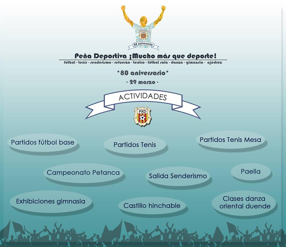 La Peña Deportiva cuenta con más de 600 deportistas y practicantes entre todas sus secciones.