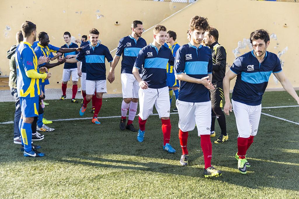 El Inter hizo el pasillo de honor al brillante campeón de la Interpueblosl, el Ciudad de Ibiza.