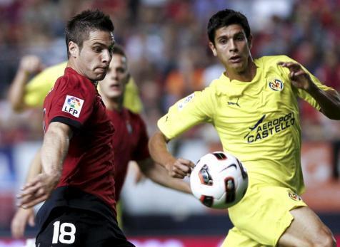 Carlos Tomás debutó en Primera frente a Osasuna con 23 años.