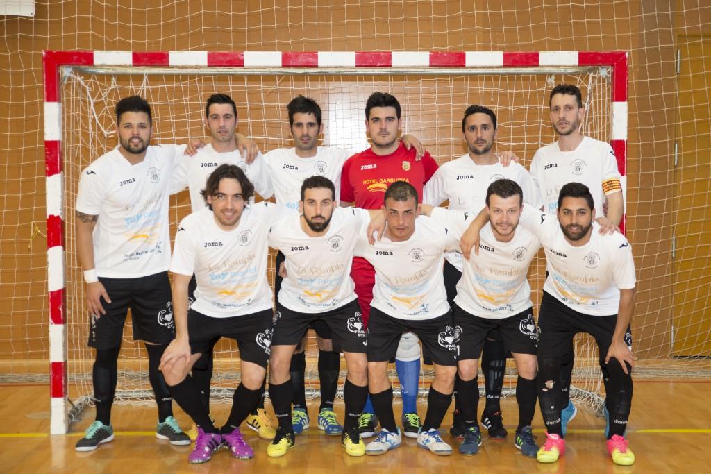 El equipo de Santa Eulalia no ha podido superar al Pilaristas (5-5).