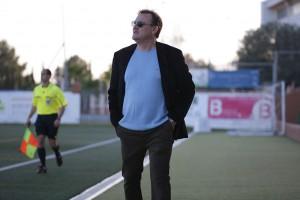 Mario Ormaechea, técnico de la Peña.