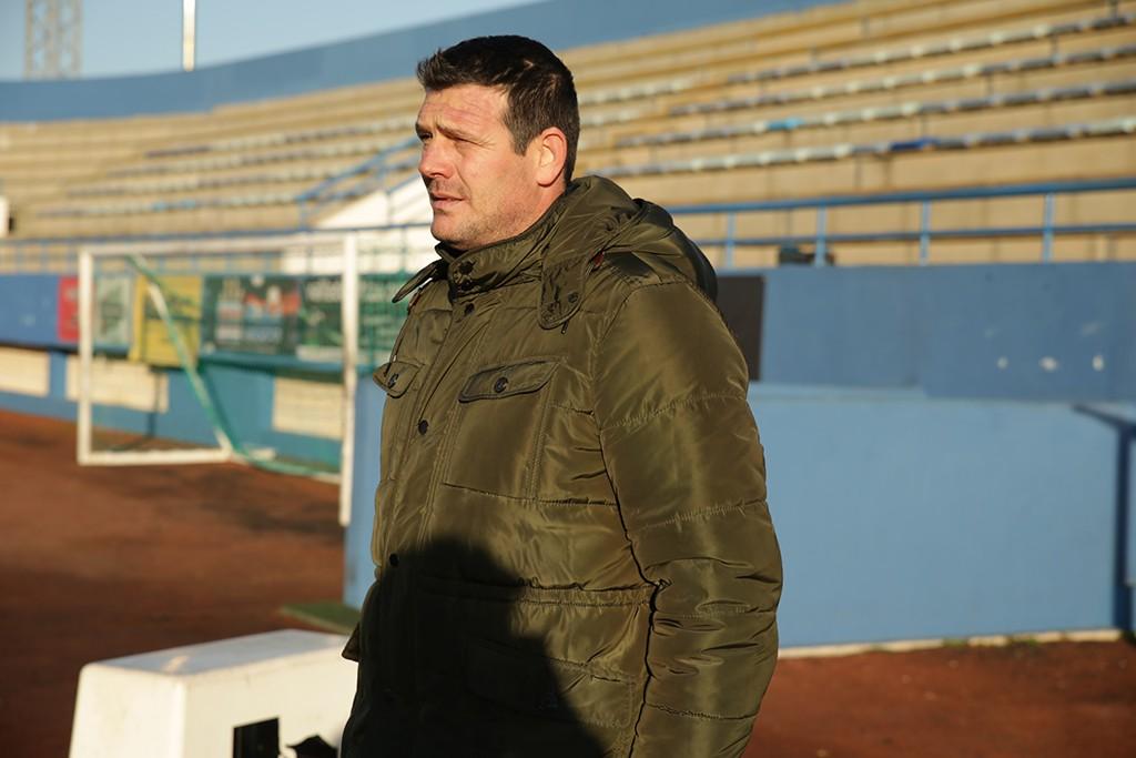 El entrenador del conjunto deportivista, en una imagen de archivo.