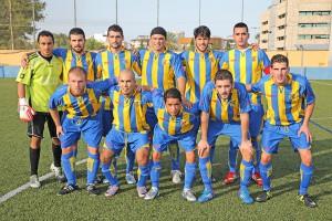 Una alineación titular del equipo de Vila, campeón de la Primera Regional.
