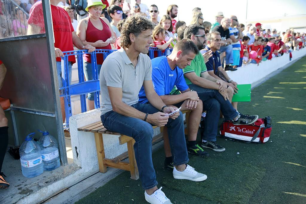 El entrenador del Formentera se muestra optimista de cara a las próximas eliminatorias.