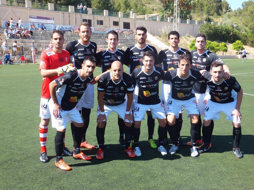 Once titular del equipo blanco en Lloseta (Foto: Fútbol Balear).