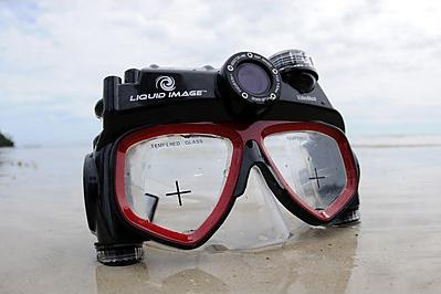 El modelo Liquid Image 310 permite trabajar hasta una profunfidad de 20 metros.