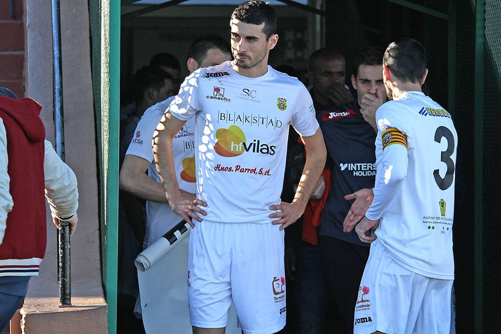 El mediocentro Borja Pando regresa al estadio donde creció como futbolista.