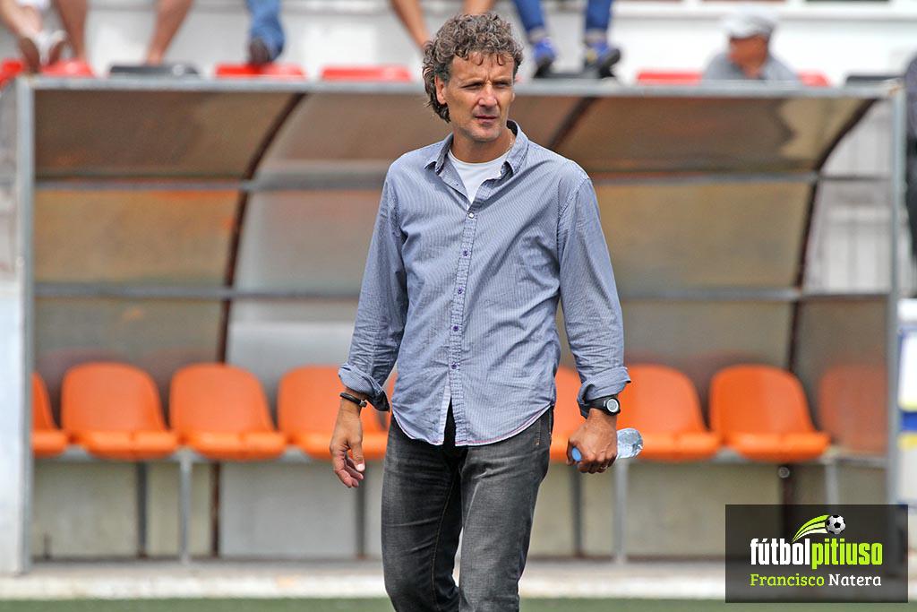 El entrenador del Formentera en una imagen de archivo.