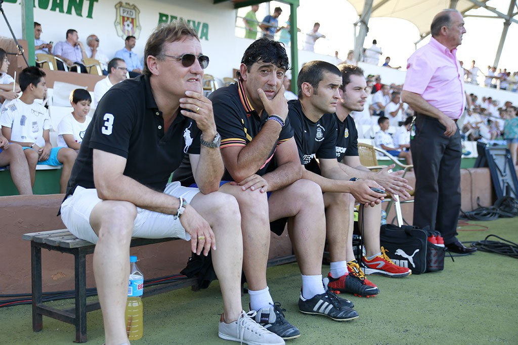 El entrenador de la Peña asegura que esta semana ha sido la más complicada de toda la temporada.