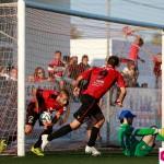 El equipo de Elcacho no ha podido marcar un gol ante el Sanluqueño.