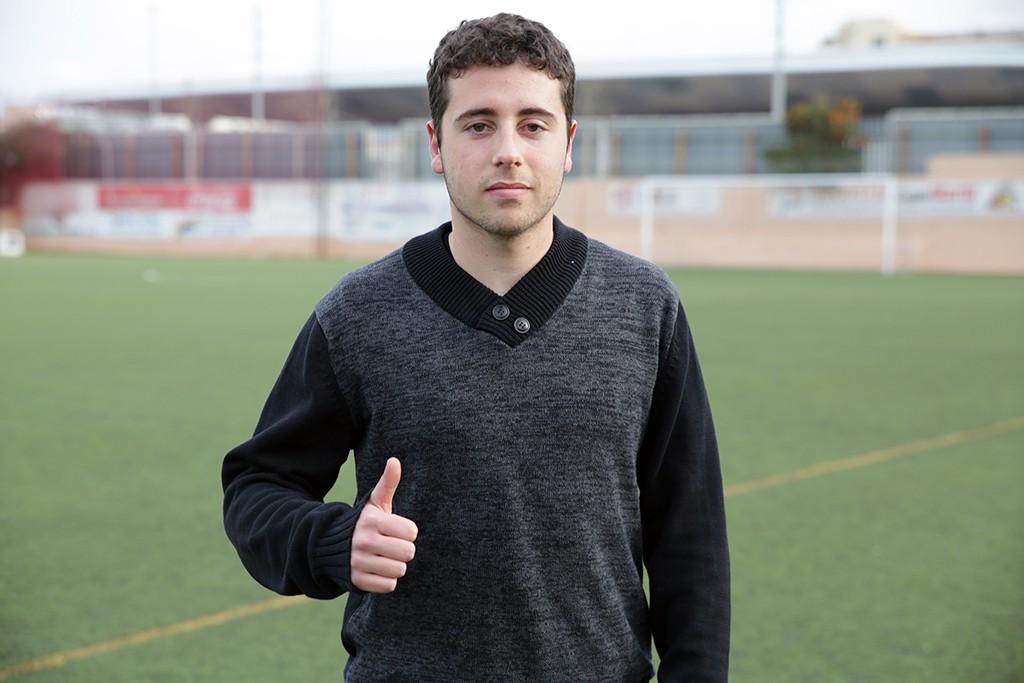 El joven delantero abandona el Portmany después de marcar 27 goles en Liga Nacional la temporada pasada.