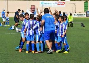 El benjamín de Sa Pedrera Blava disputará la final de la Copa Federación.