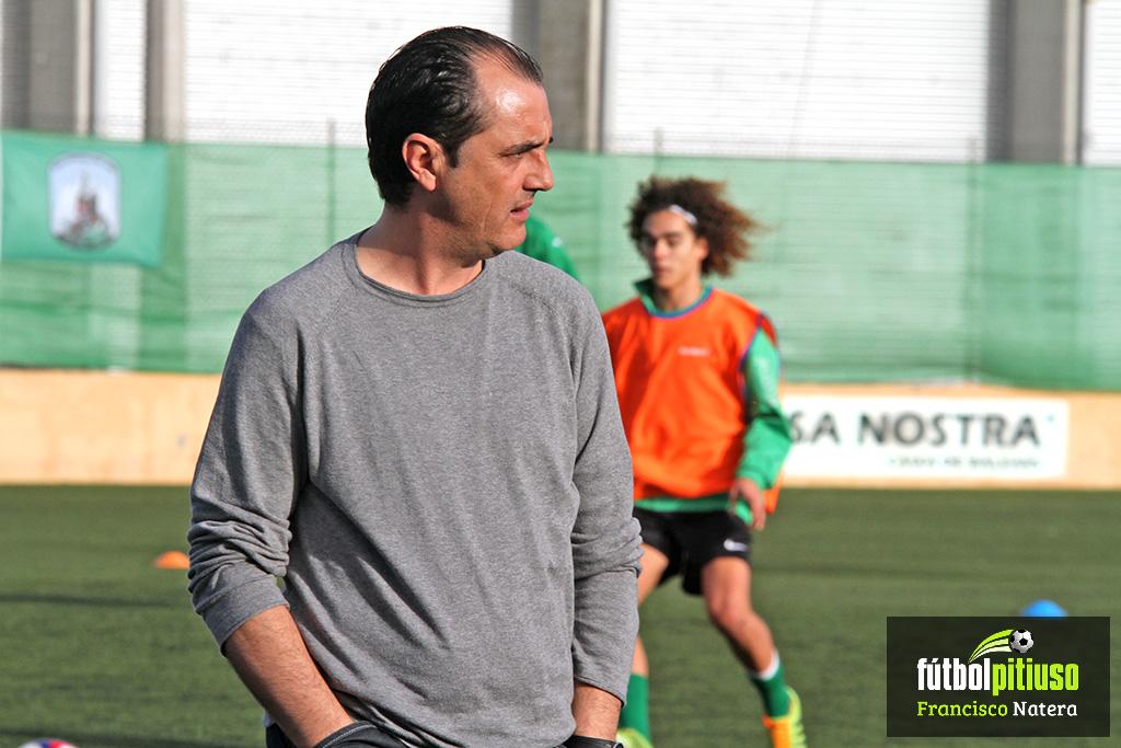 Juanjo Cruz, exentrenador del Sant Jordi de la Liga Nacional Juvenil, en una imagen de archivo.