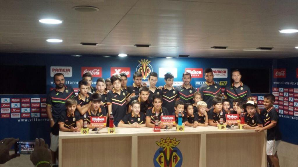 Cuatro equipos de la Peña Deportiva participaron en la primera edición de la Villarreal Final Cup.