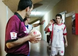 Carlos Martín, Charly, exjugador del Segovia Futsal, llega cedido a la Peña FS. Foto: S. Futsal.