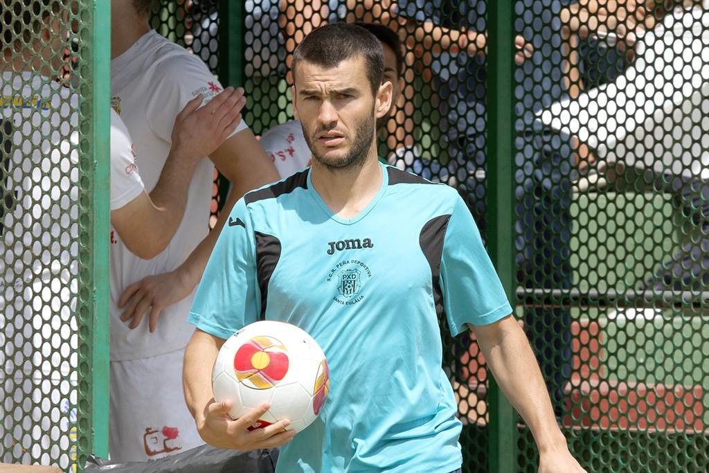 El preparador físico dice adiós a la Peña Deportiva tras una feliz etapa.