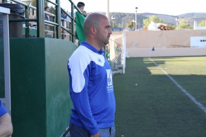 Raúl Barroso, en una imagen de archivo, cuando entrenaba al San Rafael juvenil.