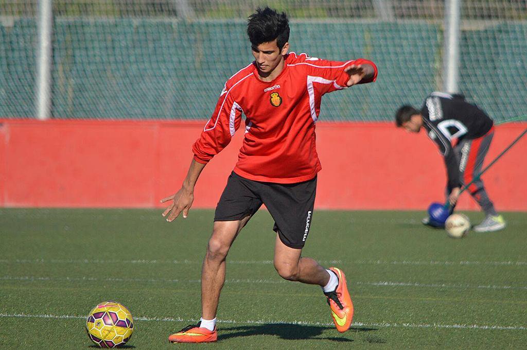 El exjugador del Formentera llegó a probar con el Mallorca la temporada pasada.