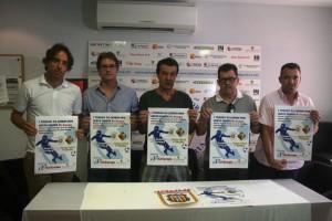 Estefan Lanchón, Salvador Losa, Juan Marí, Miquel Jaume y José Tirado, durante la presentación.