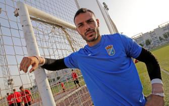 Ángel Ramírez recala en el Xerez Club Deportivo 10 años después de su marcha a tierras baleares. / Manuel Aranda