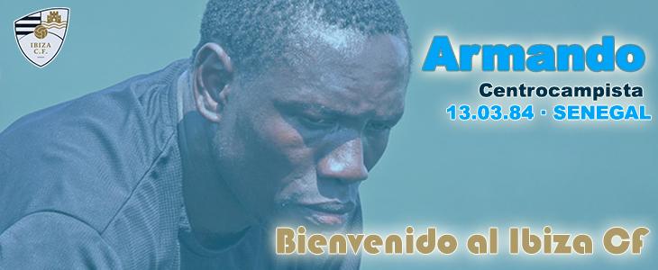 El Ciudad de Ibiza ha hecho oficial el fichaje del mediocentro senegalés.