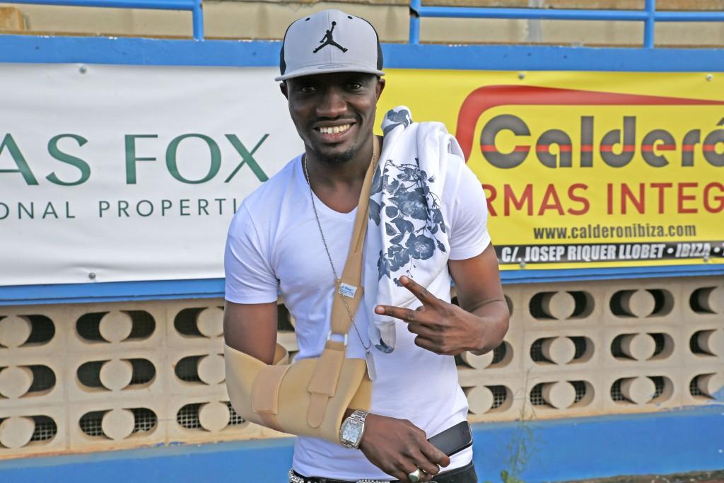 Djily, centrocampista senegalés, está muy cerca de incorporarse al proyecto del equipo ibicenco.