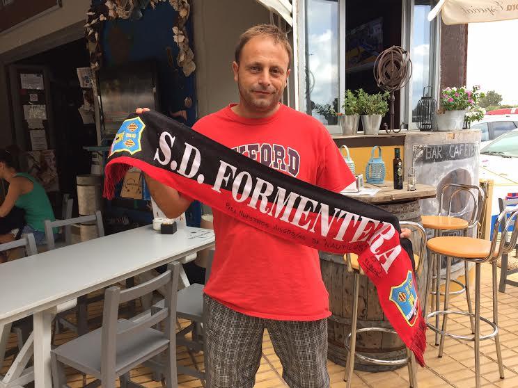El entrenador del Formentera B, Edu Ortiz, asegura que Palomo era el corazón y el alma del grupo.