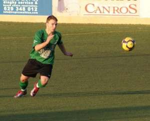 el defensa ya vestió la Verde cuando era juvenil.
