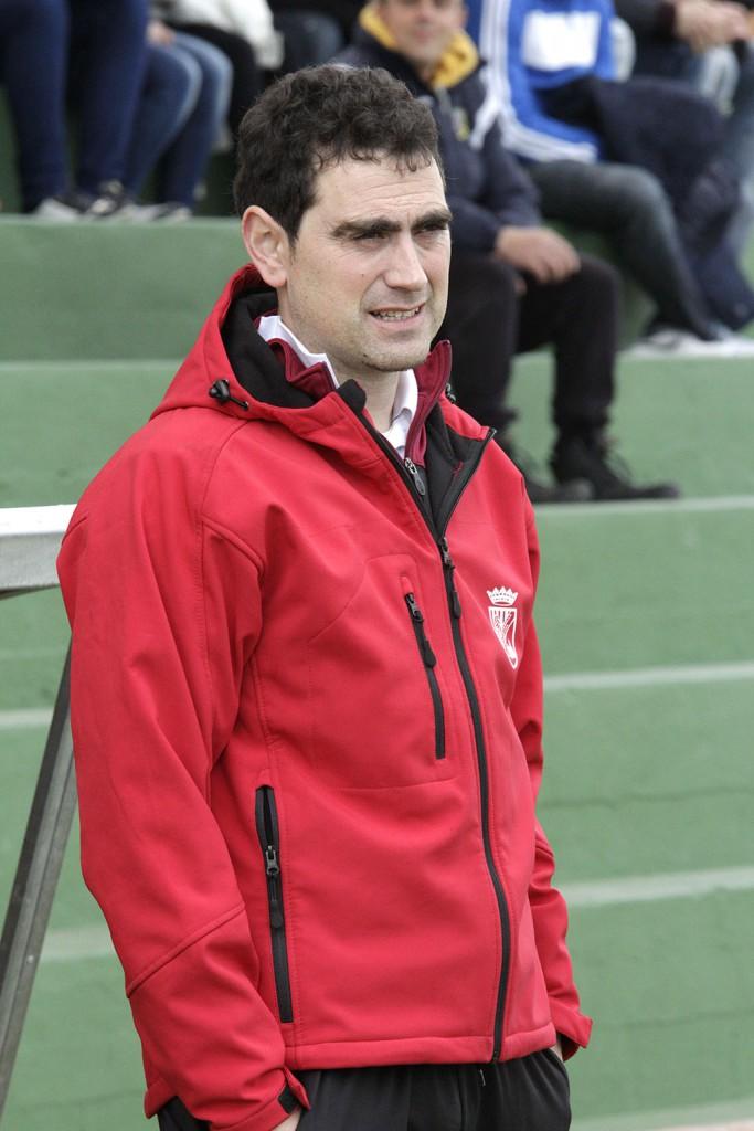 El entrenador de la Peña y fiel seguidor del Barça.