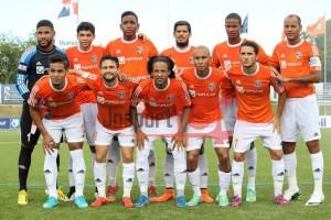 Un once titular del equipo dominicano la pasada temporada.
