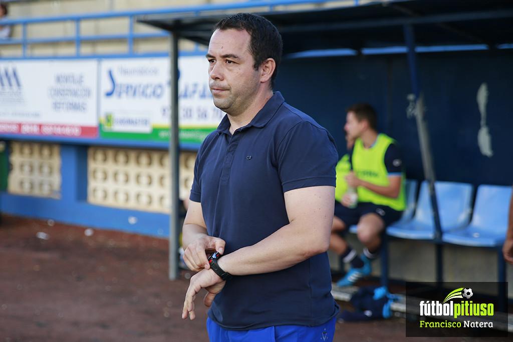 David Torres dirigió la temporada pasada al Ciudad de Ibiza.