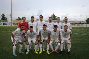 Once inicial de la Peña Deportiva en el amistoso disputado en Samta Eulària ante el Formentera.