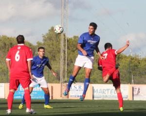Juan Luque, en una imagen de archivo, logró el gol del empate definitivo frente al Collerense.