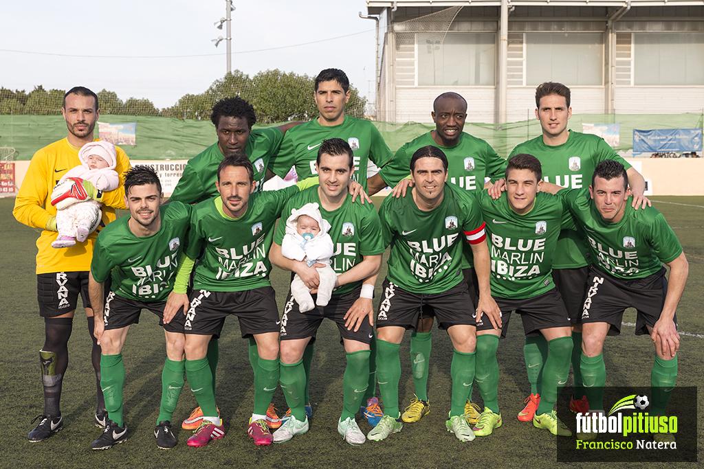 Una alineación del equipo de Tortosa de la pasada campaña.