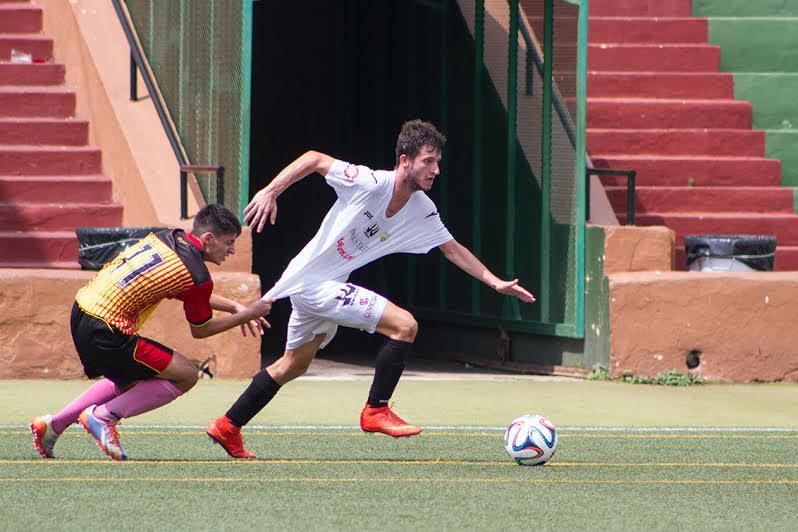Una jugada del Peña VS Ciudad de Palma. Foto: Joan Torres