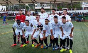 La Peña Deportiva no pudo pasar del empate en el Municipal de Santa Eulària.