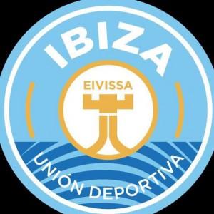 Imagen del nuevo escudo de la UD Ibiza.