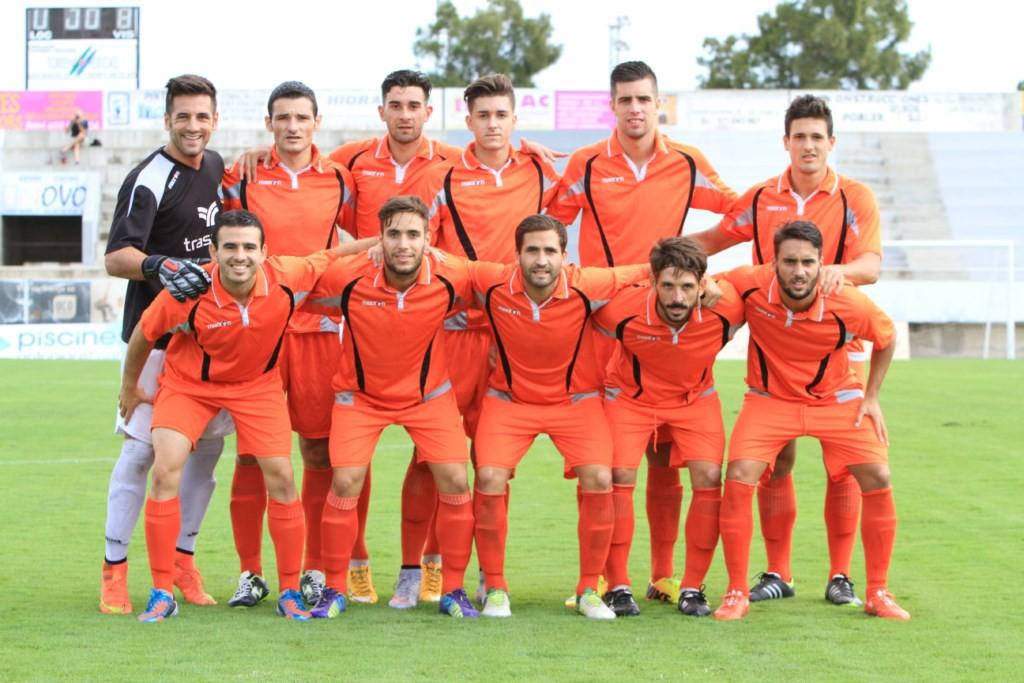 Once titular que ganó la pasada jornada en el campo del Poblense (Foto: Fútbol Balear).