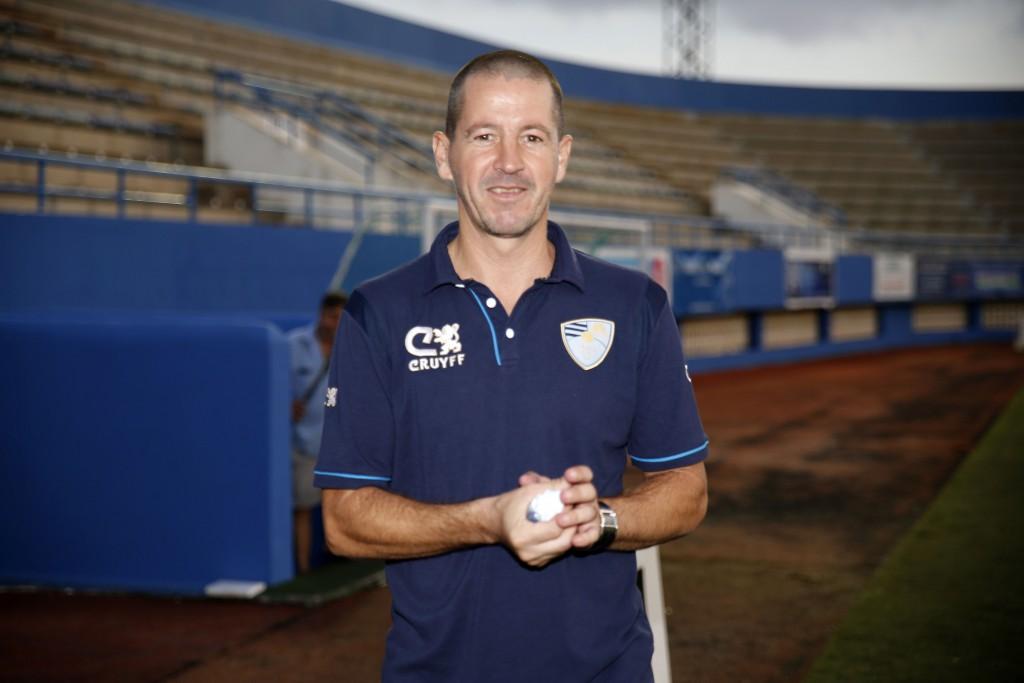 Ibon Begoña es, junto con Jordi Cruyff, uno de los accionistas del club ibicenco.