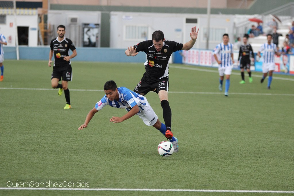 El equipo de Dani Mori ha dado la cara en el campo del Baleares (Foto: Guiem Sánchez).