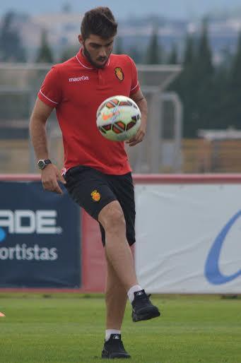 El exjugador del Portmany se siente feliz en Mallorca.