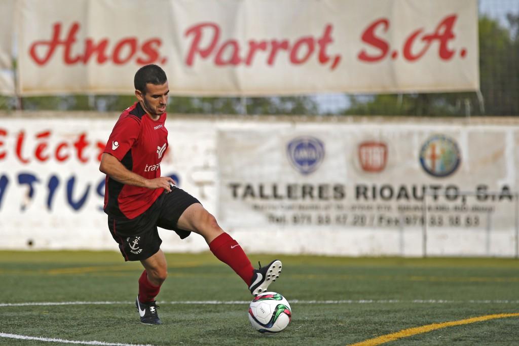 Pepe Bernal, en un partido de Liga.
