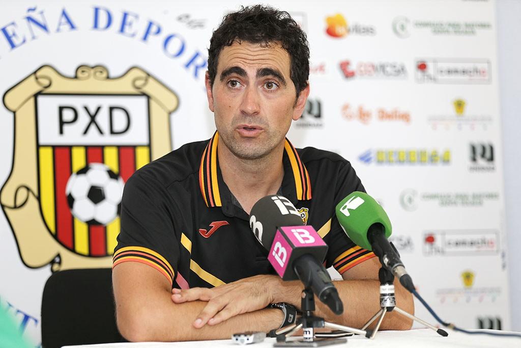 """""""Vamos a salir a ganar, como hacemos siempre"""", asegura el entrenador de la Peña."""