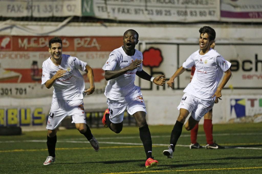 Winde celebra un gol esta temporada.
