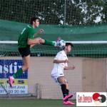 Una acción del partido disputado en el Kiko Serra (Fotos: Paco Natera Fotografía Deportiva).