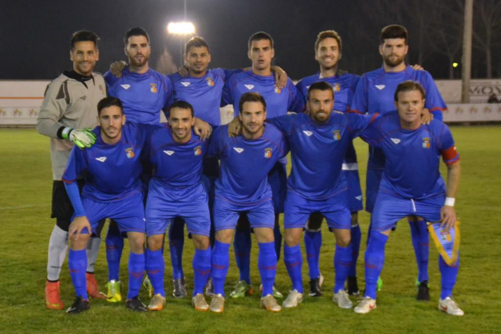 Alineación de la selección de Balears que jugó ayer en Valladolid. FÚTBOL BALEAR