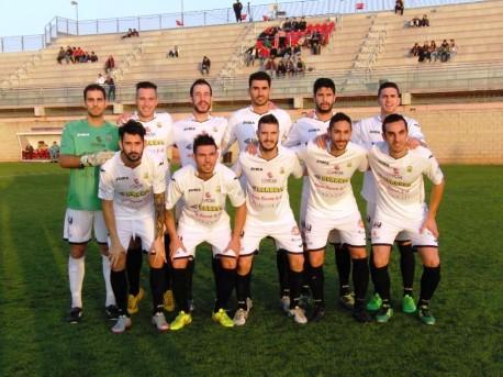 Once titular del equipo de Santa Eujlalia (Foto: Fútbol Balear).