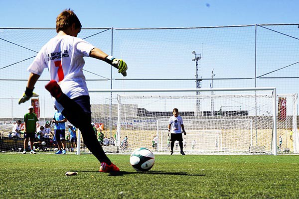 La mayor fiesta de los porteros tendrá lugar en Semana Santa en el campo de fútbol de San Rafael.