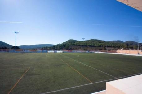 El campo de fútbol de Sant Josep. Foto: santjosep.org