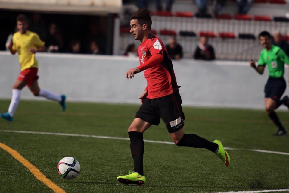 El jugador del Formentera revolucionó el partido.